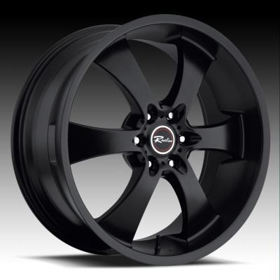 138 Maxim 6 Black Tires